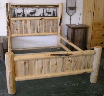 Adirondack Bark On Crib Style Bunkbed