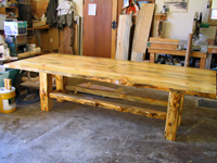Low beam log table