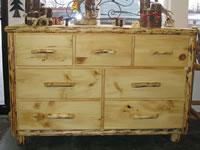 Pine Dressers 7 Drawer