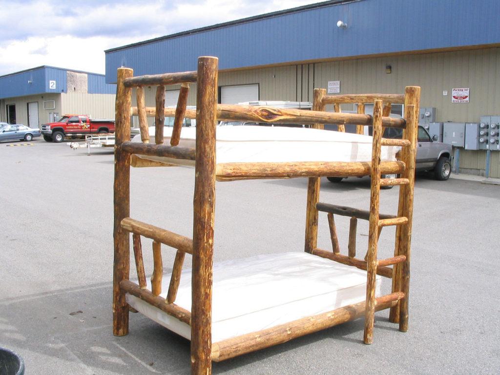 Log Bunk Beds North Idaho Log Furniture